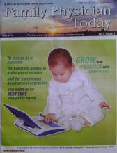 Why have a website - family physician today cover page